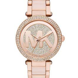 Michael Kors Women's Parker Two-Tone Watch MK6176: Michael Kors