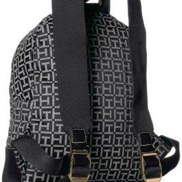 Tommy Hilfiger Women's Backpack Jaden, Black/White