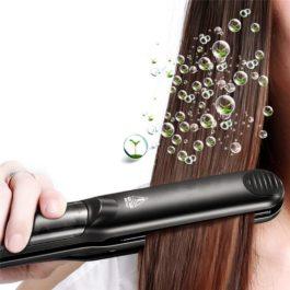 Flat Steam Iron Hair Straightener Professional Ceramic Vapor with Argan Oil Infusion straightening Hair Flat Iron Steampod